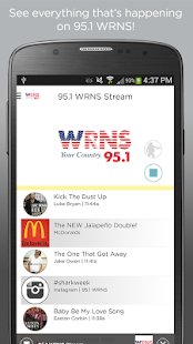 95.1 WRNS- screenshot thumbnail