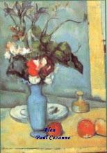 Photo: bleu Paul Cezanne  Le vase bleu- 1885-1887