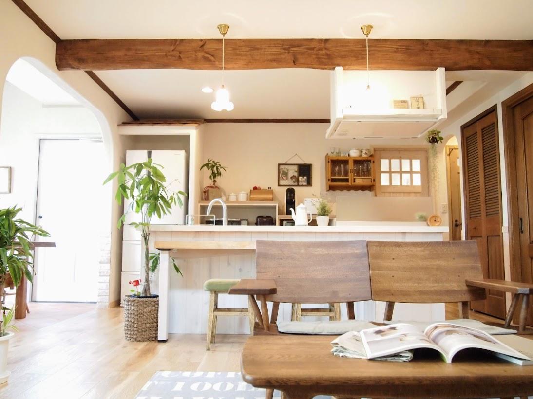 フレンチシックなお家オープンキッチン