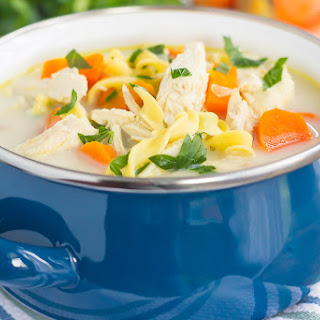 Creamy Chicken Noodle Soup Carrots Recipes