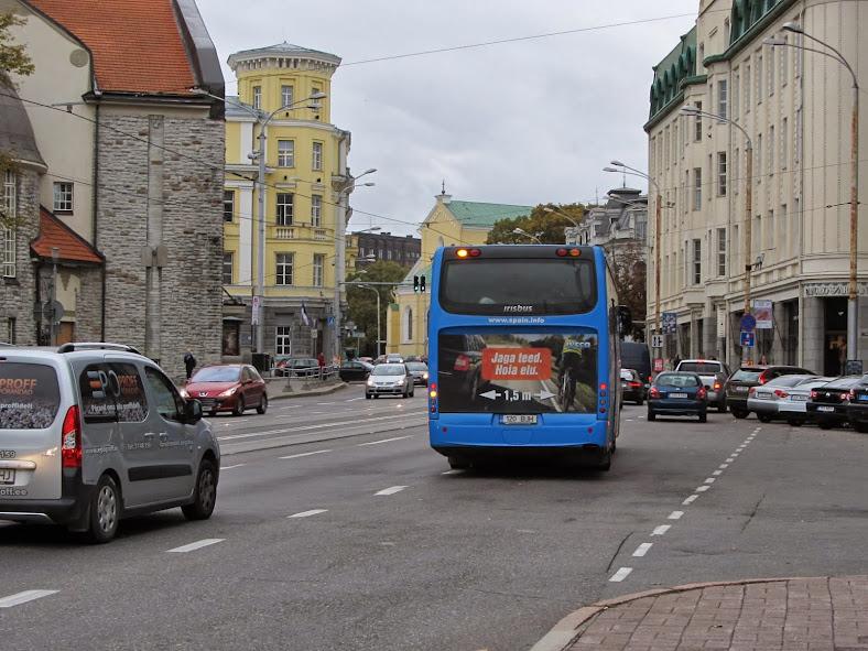 реклама о боковом интервале в Эстонии