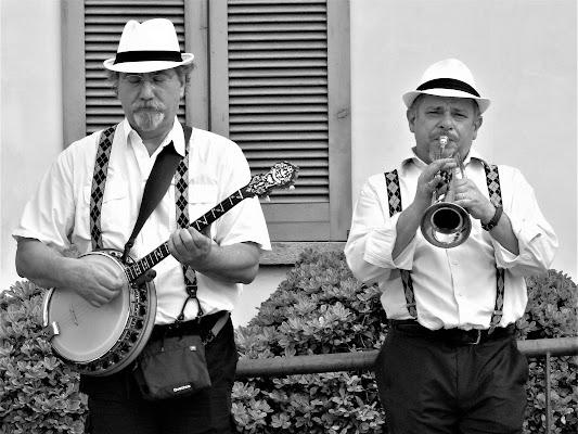 Jazzisti sulla strada di iento
