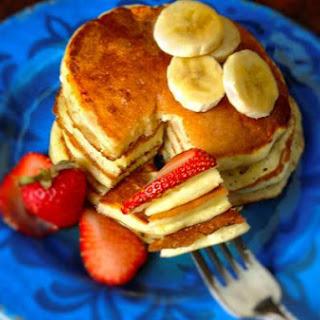 Ricotta Lemon Pancakes.