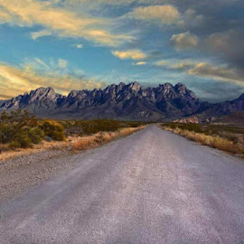 Open Road by Felix Valenzuela - Landscapes Deserts (  )