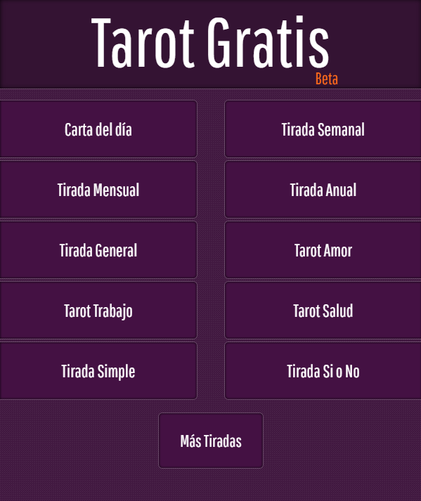 Tarot Gratis- screenshot