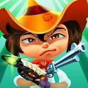 Cowboys vs UFO: Alien shooter icon