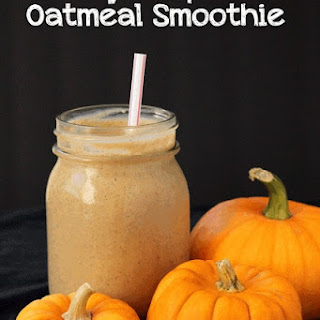 Make-Ahead Pumpkin Pie Oatmeal Smoothies