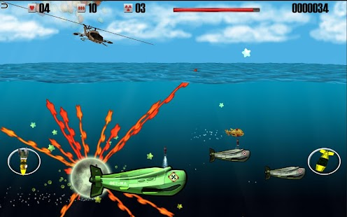 Helicopters vs Submarines- screenshot thumbnail