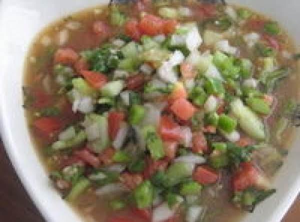 Grandma Thelma's Gazpacho Recipe