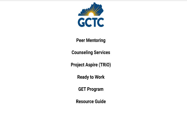 GCTC Student Resources Extension