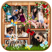 Butterfly Photo Collage Maker