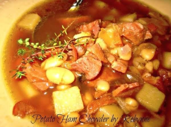 Robynne's Potato Ham Chowder~robynne Recipe