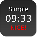 Nice Simple Clock (Widget) Icon