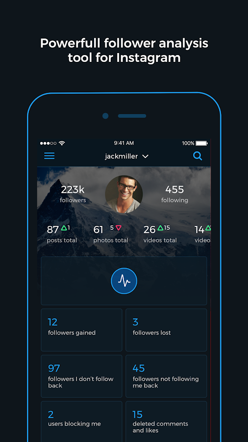Reports+ Followers Analytics for Instagram- screenshot