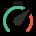 Speedr - time saved speeding icon