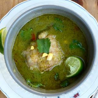 Aguadito (a.k.a. Peruvian Chicken Soup)
