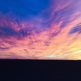 Sunset in west Texas by Scott Thomas - Landscapes Sunsets & Sunrises ( beautiful, west texas, nature, sunset, panhandle, colors )