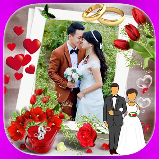 Wedding Frame Collage