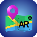 Augmented Reality Map icon