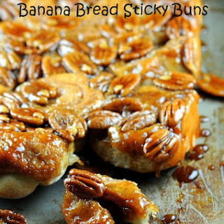 Banana Bread Sticky Buns