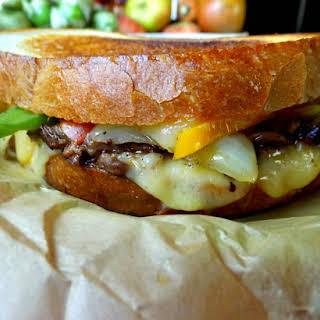 Beef Fajita Grilled Cheese Sandwich.