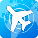 Flight Tracker Online Map: Search Flight Status icon