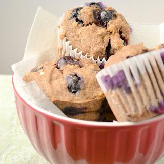Gluten-Free Vegan Blueberry Muffins