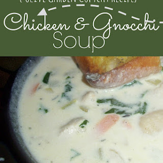 Olive Garden Chicken and Gnocchi Soup.