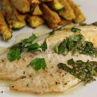 Baked Garlic Lemon Tilapia Recipe