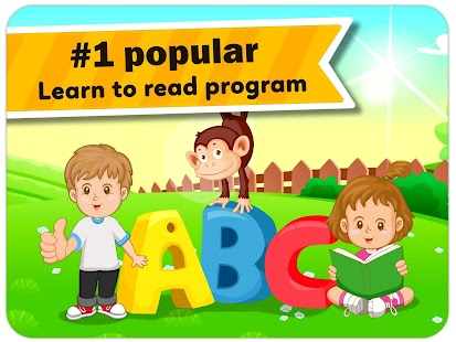 Learn to read - Monkey Junior- screenshot thumbnail