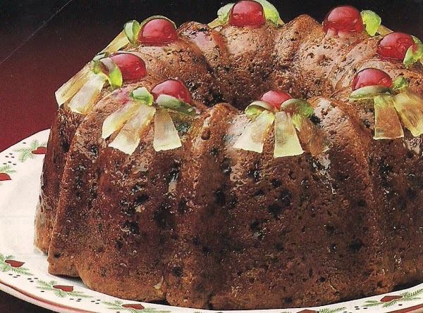 Sweet Fruitcake Recipe