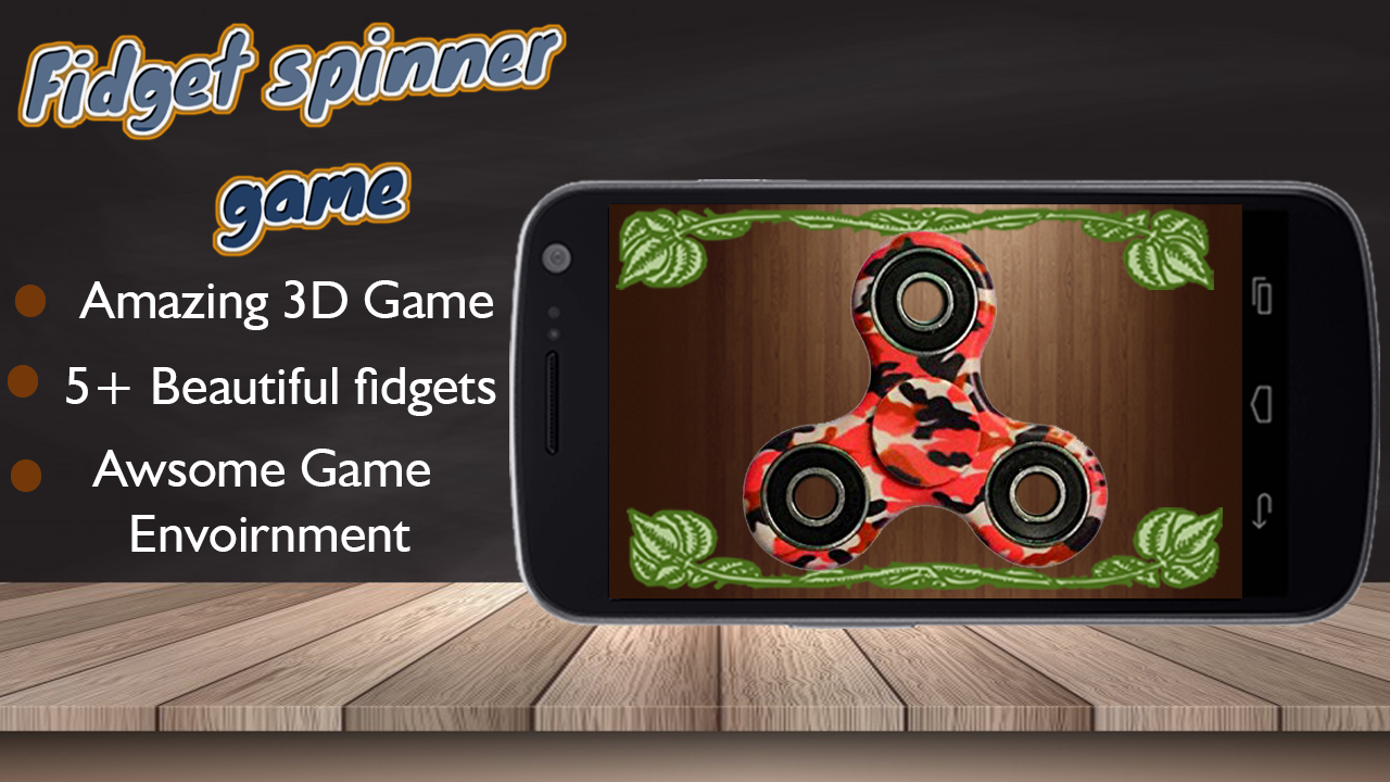 Fidget Spinner Spinning Game- screenshot