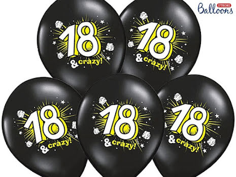 Ballonger - 18 år & crazy