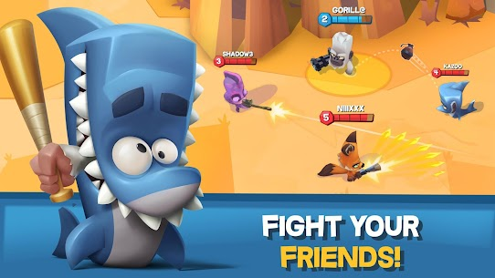 Zooba: Free-for-all Zoo Combat Battle Royale Games 2.0.0 MOD APK (Unlimited Money) 3