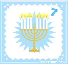 Photo: After many Christmas related updates in the past I finally added a Hanukkah menorah to sp-studio.de today.