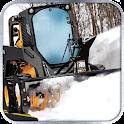 Winter Snow Plow Truck Sim 3D icon
