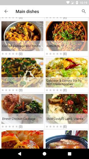 Cabbage Recipes 1.07 screenshots 2