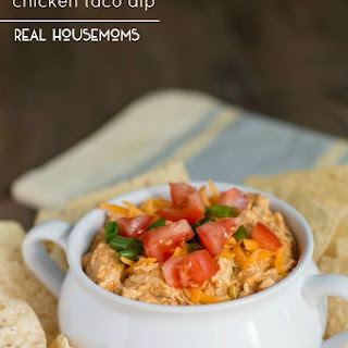 Slow Cooker Chicken Taco Dip.