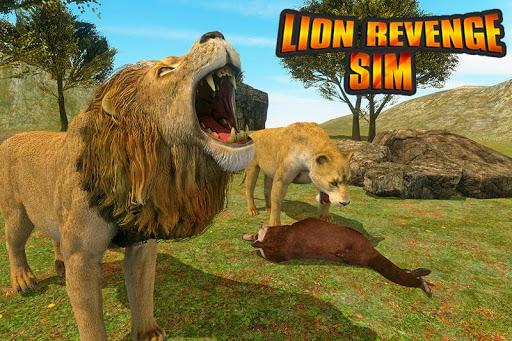 Angry Lion Sim City Attack screenshot 7