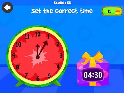 Telling Time Games For Kids - Learn To Tell Time 1.0 screenshots 9
