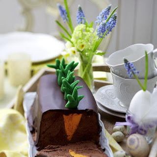 Chocolate and Orange Garden Terrine