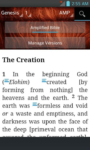 Bible AMP, Amplified Bible (English)  screenshots 3