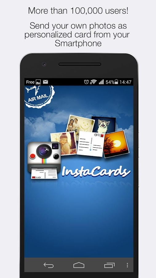 InstaCards – Instagram prints- screenshot