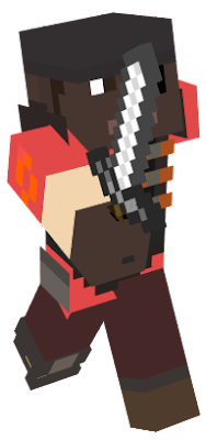 The Demoman from TF2 wearing the bootlegger.
