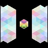 Color cube wallpaper