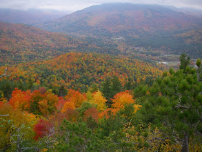 Photo: Keene Valley from Baxter Mountain.