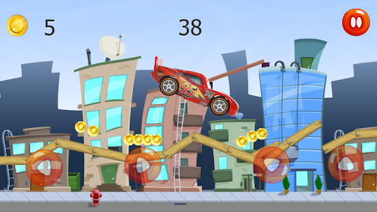 Game Ultimate Lightning Mcqueen Race APK for Windows Phone