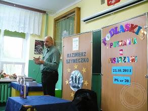 Photo: Spotkanie z pisarzem Kazimierzem Szymeczko