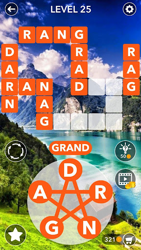 Word Cross Puzzle : English Crossword Search 2.4 screenshots 3