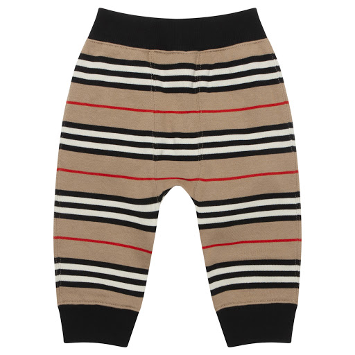 Thumbnail images of Burberry Baby Stripe Joggers